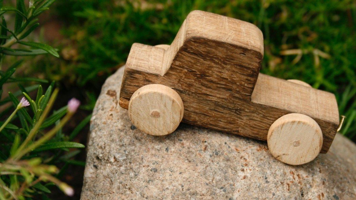 Vantagens dos brinquedos de madeira