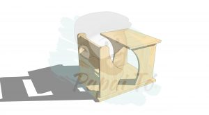 pikler mesa individual table